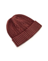 Free People Storm Washed Cotton Cable Beanie