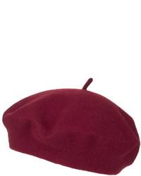 Topshop Wool Blend Beret Hat