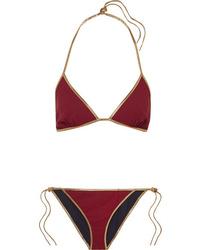Tooshie Hampton Reversible Med Triangle Bikini