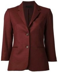Burgundy blazer original 1366323