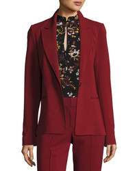 A.L.C. Duke One Button Tailored Blazer Jacket