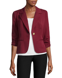 HOLLYWOULD Fitted Fit Woven Blazer Juniors