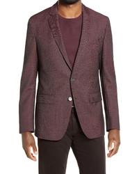 BOSS Hartlay Slim Fit Solid Wool Sport Coat