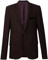 Lanvin contrast velvet trim blazer medium 659117