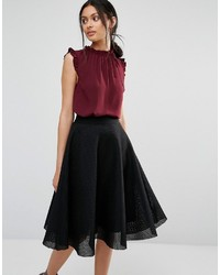Oasis Frill Sleeve Blouse