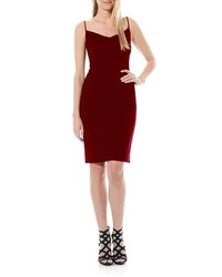 Burgundy bodycon dress original 1382847