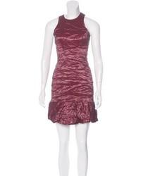 Artelier Metallic Bodycon Dress