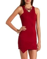 Charlotte Russe Asymmetrical Body Con Dress