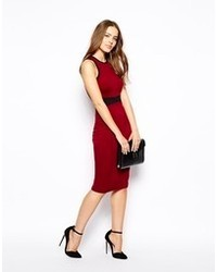 AX Paris Bodycon Dress With Contrast Panel