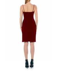 Laundry by Shelli Segal Ruched Jersey Body Con Dress