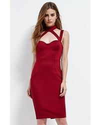 Selfie Leslie Bustier Choker Bodycon Dress