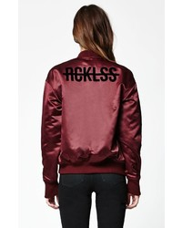 Young & Reckless Varsity Bomber Jacket