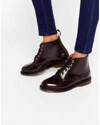 Dr. Martens Dr Martens Kensington Emmeline 5 Eye Cherry Boots