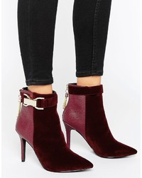 Forever Unique Thelma Chain Heeled Boot