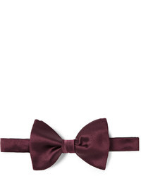 New alber silk satin bow tie medium 20438