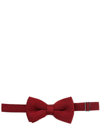 Forever 21 Textured Knit Bow Tie