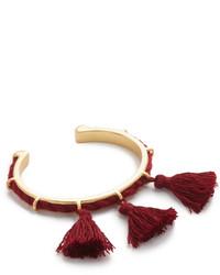 Madewell Cord Tassel Cuff Bracelet
