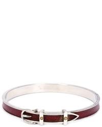 Hermes Herms Vintage Buckled Bracelet