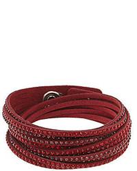 Swarovski Slake Alcantara Crystal Bracelet