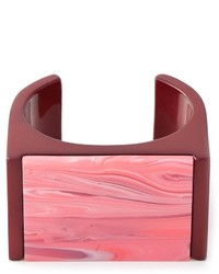 Stella McCartney Mixed Stones Plexi Cuff