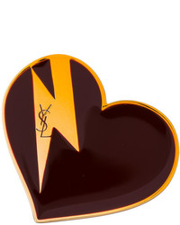 Saint Laurent Heart Bolt Brooch