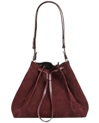 Maison Margiela Medium Nubuck Bucket Shoulder Bag
