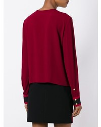 Fausto Puglisi Collarless Shirt