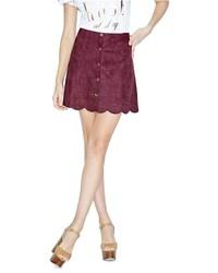 GUESS Mindy Scallop Miniskirt