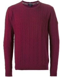 Armani Jeans Cable Knit Sweater