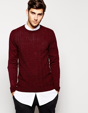 Asos Brand Cable Sweater | Where to buy & how to wear