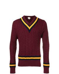 Kent & Curwen Varsity Knitted Sweater