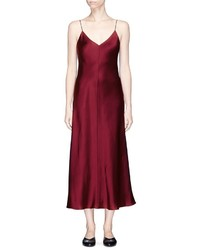 The Row Guinevere Silk Satin Slip Dress