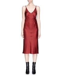 Helmut Lang Satin Camisole Dress