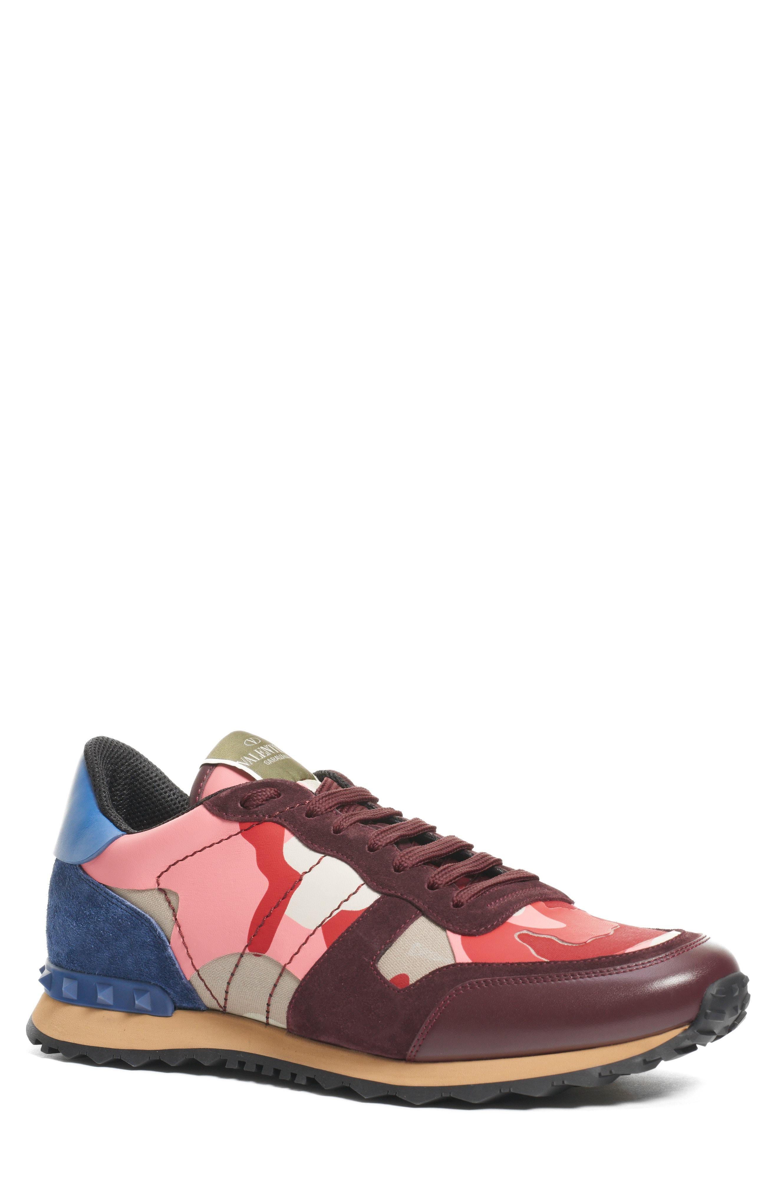 f958493eaa Valentino Garavani Camo Rockrunner Sneaker 795 Nordstrom Shoes ...