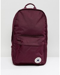 Converse Chuck Taylor Patch Backpack In Burgundy