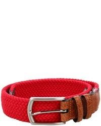 32mm italian woven multi cotton elastic belts medium 19491