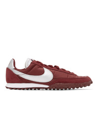 Nike Red Waffle Racer Sneakers