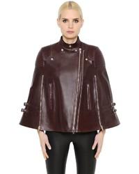Givenchy Nappa Leather Biker Cape
