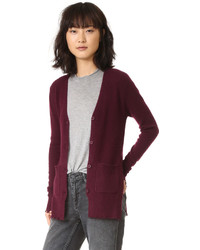 Andre destroyed cashmere cardigan medium 794469