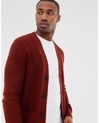 16a948953e7 Men's Burgundy Cardigans from Asos | Men's Fashion | Lookastic.com