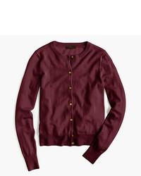 Lightweight wool jackie cardigan sweater medium 3756584