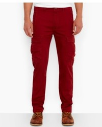 Burgundy Cargo Pants