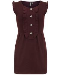 Burgundy Casual Dress