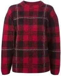 M Missoni Check Pattern Sweater