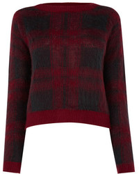 Oasis brushed check jumper medium 399693