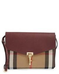 Burberry Small Macken Check Crossbody Bag