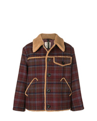Santoni Checked Shirt Jacket