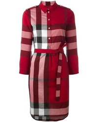 Burberry House Check Shirt Dress