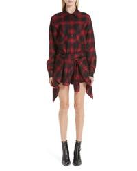 Alexander Wang Wool Flannel Shirtdress
