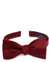The Tie Bar Check Mates Silk Bow Tie